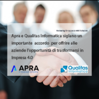 Comunicato: Apra e Qualitas Informatica siglano un importante accordo di partnership