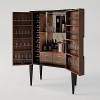 Idee per creare la giusta atmosfera: Francesco Pasi presenta il mobile bar Ellipse