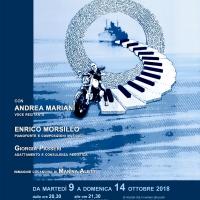 NOVECENTO di Alessandro Baricco (In scena dal 9 al 14 ottobre al Teatro Arciliuto di Roma)