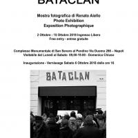 Il primo anniversario del Bataclan nelle foto in bianco e nero di Renato Aiello al Pendino a via Duomo, Napoli