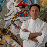 """Lo chef Nino Di Costanzo ospite di """"Positano Gourmet""""  al ristorante La Serra di Luigi Tramontano"""