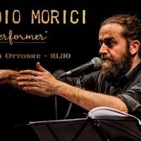 Lunedì 8 ottobre, al Joy di Milano, CLAUDIO MORICI presenta BEST OFF