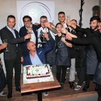 TANTI VIP PER L'INAUGURAZIONE DEL RISTORANTE CLOROFILLA CUCINA E DISTILLATI A ROMA