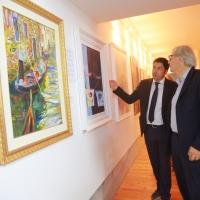 Sgarbi a Venezia: sorprendente inaugurazione con tanti vip e artisti