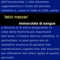 """Edizioni Leucotea insieme alla collana Project annuncia l'uscita del libro """"Immacolata di sangue"""" di Fabio Mazzari"""