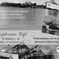 Incontro con Steve Fortunato autore del romanzo Nei miei Panni allo Scriptorium Cafè