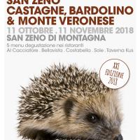 SAN ZENO CASTAGNE, BARDOLINO & MONTE VERONESE: TORNA LA RASSEGNA GASTRONOMICA SUI SAPORI DEL BALDO