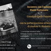 Le Trottoir presenta Steve Fortunato autore del romanzo Nei miei panni