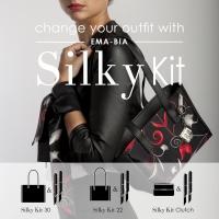 EMA-BIA ha presentato con grande successo  al Mipel di Milano la nuova collezione Silky Kit