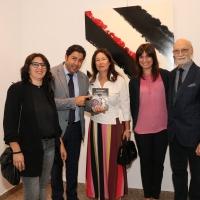 Milano Art Gallery: l'emozionante taglio del nastro per la personale di Manuela Andreoli