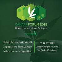 Canapa e industria: se ne parla a Canapaforum il 27 e 28 ottobre 2018