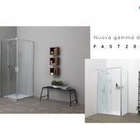 Grandform presenta Fast2000:  la gamma docce rapida da installare e bella esteticamente