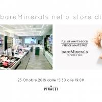 Pinalli: Evento Bareminerals nello store di Trento
