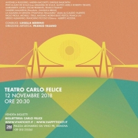 """""""Genova per i Tuoi Occhi"""" 12 Novembre 2018, Teatro Carlo Felice"""