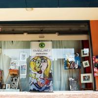 Il nuovo studio d'arte dell'artista Siviglia