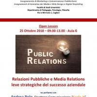 Università: a Cagliari lezione aperta sulla comunicazione