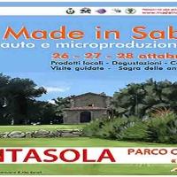 Made in Sabina è un'occasione per conoscere e assaggiare le auto e micro-produzioni agricole locali