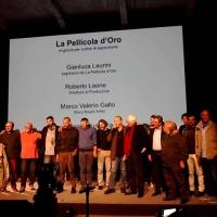 Francesco Rutelli premia i mestieri e gli artigiani de La Pellicola d'Oro di Enzo De Camillis