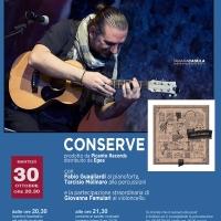 Sasà Calabrese in concerto al Teatro Arciliuto di Roma il 30 ottobre