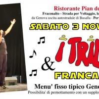 I Trilli e Franca Lai al Ristorante Pian dei Grilli