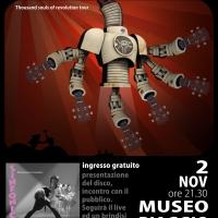 Venerdì 2 novembre, al Museo Piaggio di Pontedera (PI), i Sinfonico Honolulu