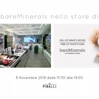 Pinalli: Evento bareMinerals nello store di Parma