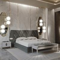 Look originale per la zona notte: Francesco Pasi presenta il nuovo letto Ellipse