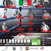 Conferenza stampa e Cerimonia del peso Boxe Night Prato