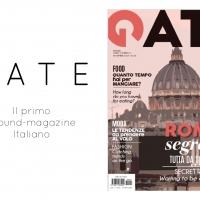 Da Novembre a Roma sbarca GATE il primo ground-magazine Italiano