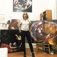 """Grande successo per la nuova edizione delle """"Ciocco-residenze internazionali"""": tra gli artisti protagonisti l'art influencer Petra Scognamiglio e lo scultore Fiorenzo Zaffina."""