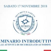Seminario introduttivo alle attivita' di sicurezza ed autodifesa