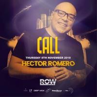 Hector Romero al ROW Club
