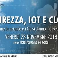 Evento Personal Data: Sicurezza, IoT e cloud, come si stanno muovendo le aziende e i CIO?