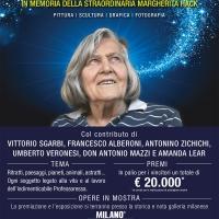 Margherita Hack ricordata da Sgarbi, Alberoni, don Mazzi alla Milano Art Gallery