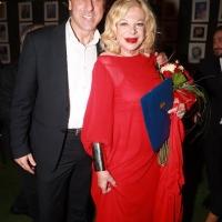 Antonello De Pierro omaggia Sandra Milo per i 73 anni di carriera