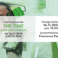 The Time: il tempo secondo la rappresentazione estetica di Gianluca Carbone