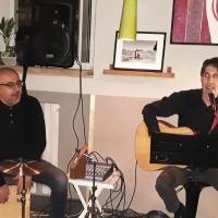 Martedi' 13 novembre 2018 Enotema Brescia  presenta  Marco Pezzotta e Maurizio Murdocca  live