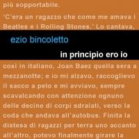 """Edizioni Leucotea annuncia l'uscita del nuovo romanzo di Ezio Bincoletto """"In principio ero io"""""""