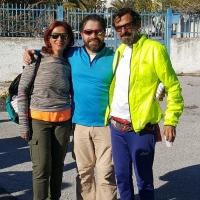 Camminata veloce con Ruggiero Graniero e gli Amici del Cammino