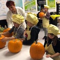 Un laboratorio di cucina per bambini tra sapori e colori autunnali