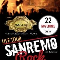 32° Sanremo Rock - 2^ tappa live tour Lombardia