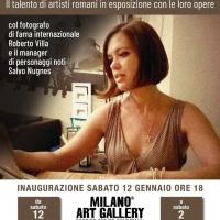 Nella storica Milano Art Gallery si parla d'arte con Nicoletta Rossotti, Salvo Nugnes e Roberto Villa