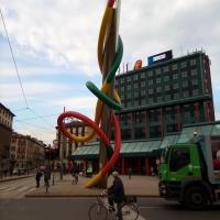 L'esperienza della bici per assaporare colori, odori e suoni