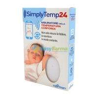 Da oggi con Easyfarma:Tu misuri la febbre al tuo bambino H24 lui nemmeno se ne accorge con SimplyTemp24