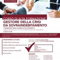 Accademia Universitaria degli studi Giuridici Europei - Gestore della crisi