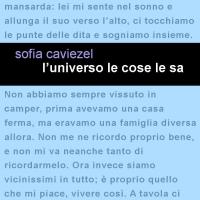 """In uscita il nuovo romanzo di Sofia Caviezel """"L'universo le cose le sa"""""""
