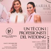 Un tè con i professionisti del wedding alla maison di Maria Laurenza