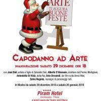 Roma: Spoleto Arte festeggia con tutti gli artisti e i vip il nuovo anno