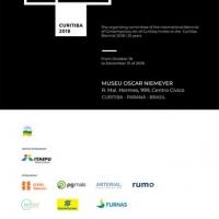 Marco Bolognesi al Museo Oscar Niemeyer per i 25 anni della Biennale di Curitiba