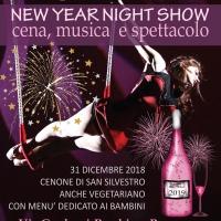 Capodanno 2019 - Cenone, show circense e musica al circo di Peschiera Borromeo (Milano)
